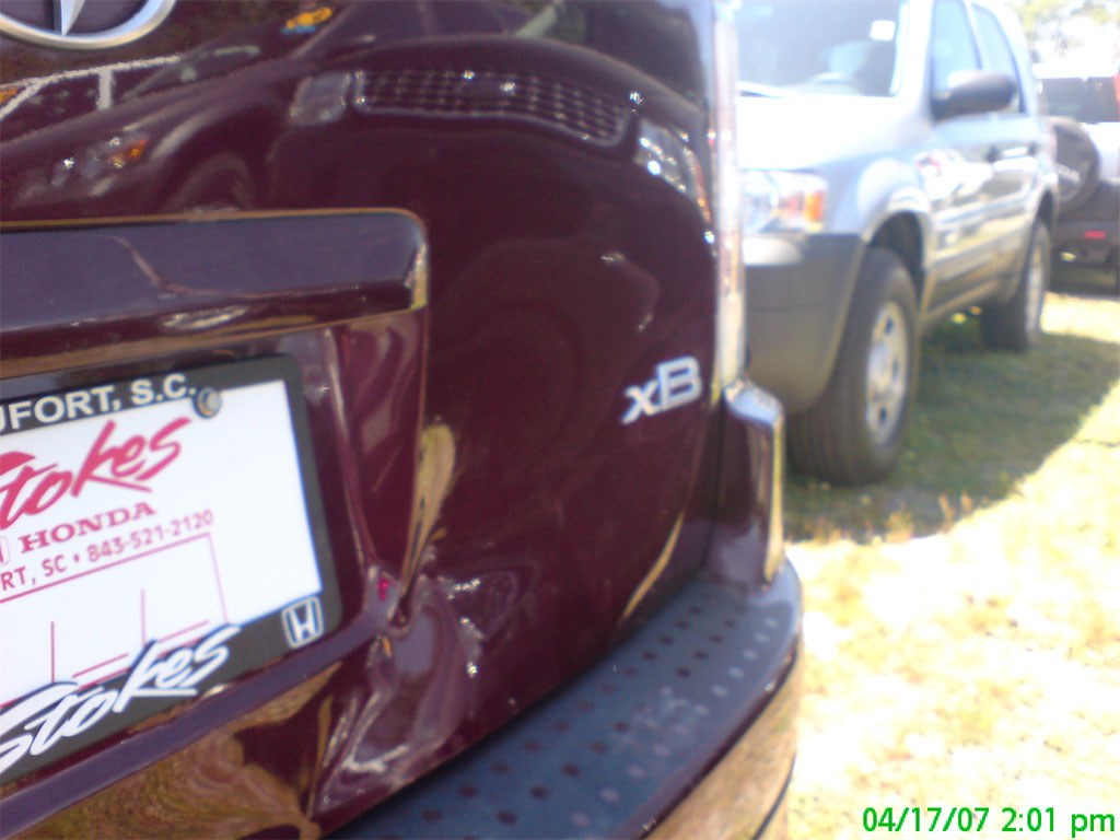 Holy City Dent Guy-Paintless dent repair-Click on picture to return to Photo page